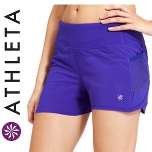 Athleta Ready Set Go Running Shorts